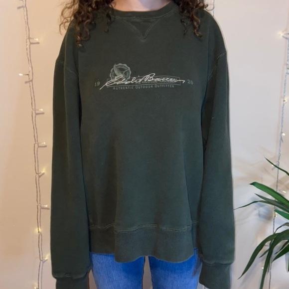 Vintage Eddie Bauer crew neck sweatshirt